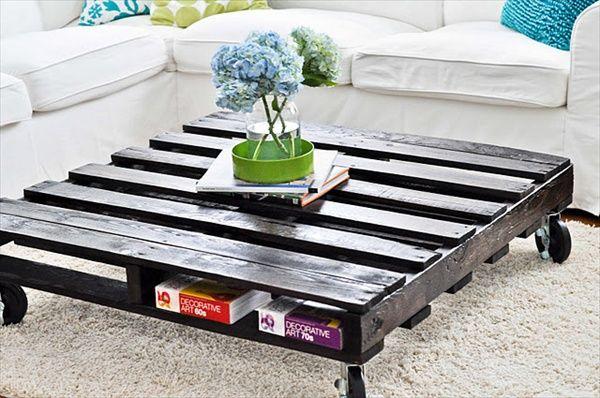 12 id es pour recycler des palettes de la ruelle au salon - Recuperer des palettes en bois ...